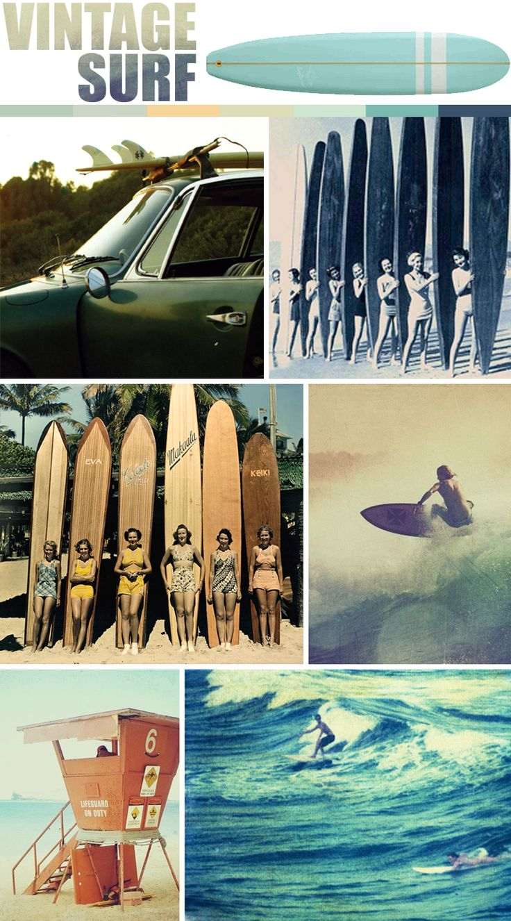 I never get tired of vintage surf photos. Check out how long those boards are!
