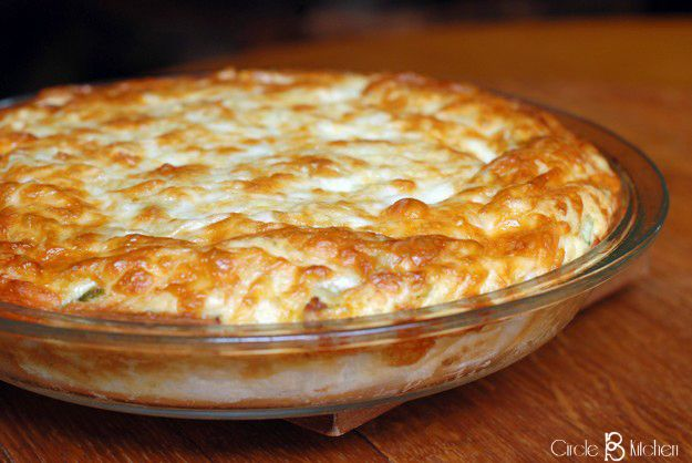 "Cheesy Chicken Quesadilla Pie - Circle B Kitchen - Circle B low carb tortillas & low carb ""flour"""