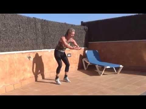 Jill Cooper - Allenamento Brucia Grassi Aeroboxe parte 2 - YouTube
