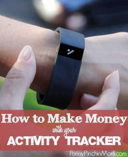Did you know that you can actually get PAID to use your activity tracker  (like