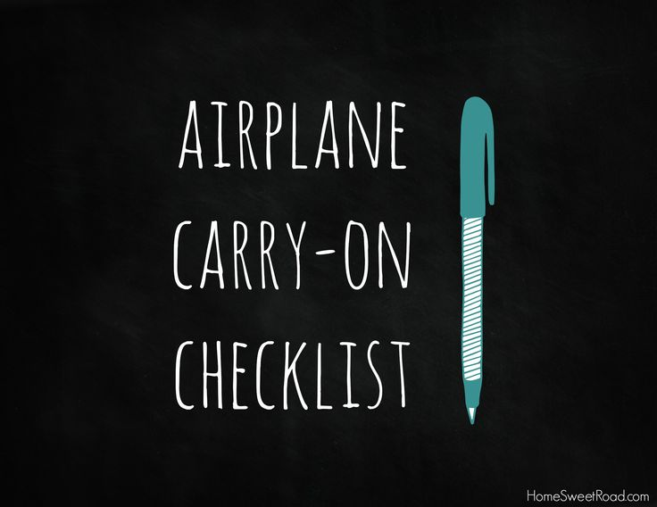 This Airplane Carry-On List is an Extensive List of Everything You'll Need for your Next Family Flight!  #familytravel #airplanepackinglist Airplane Carry-on List  - http://homesweetroad.com/airplane-carry-on-list/