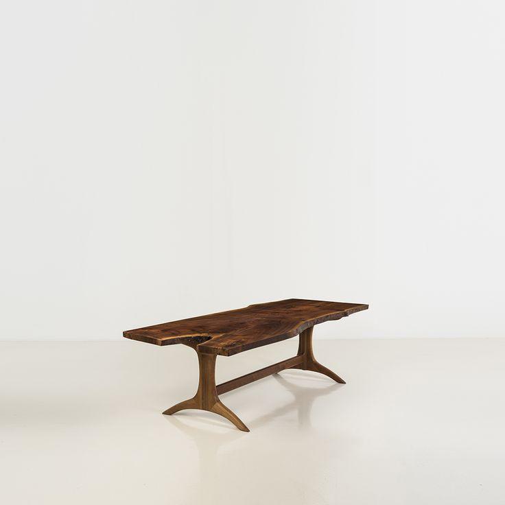 Sam Maloof (1916-2009) - Table, Noyer californien, Signée, datée et numérotée [...], Design américain à Piasa | Piasa