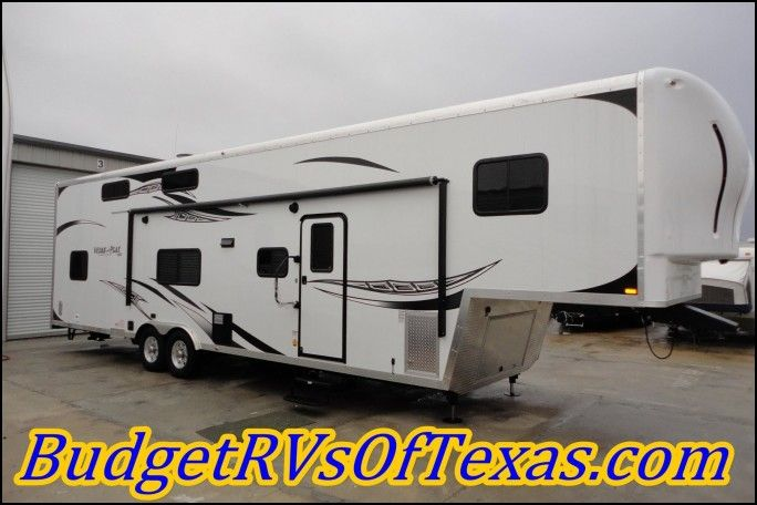 Work and Play Fifth Wheel toy Hauler for Sale
