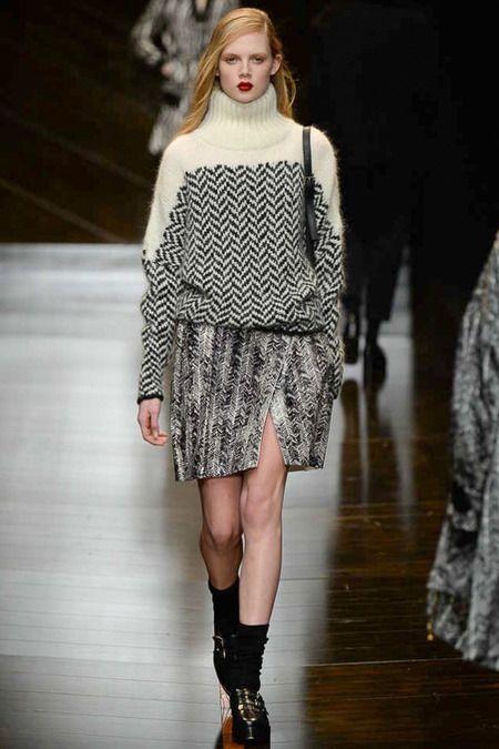 Trussardi   Fall 2014 Ready-to-Wear Collection   Style.com [Photo: Yanni Vlamos / Indigitalimages.com]