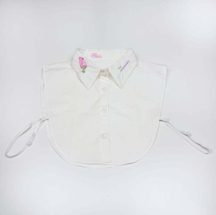 Tooth Time Detachable Collar by Elleni the Label