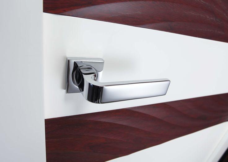 Manivela para puertas de interior en lat n modelo 1043 - Manivelas puertas interior ...