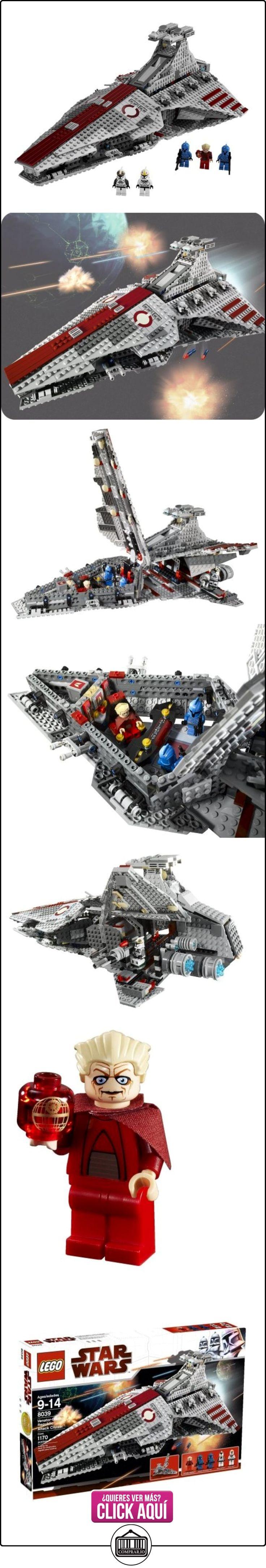 LEGO Star Wars 8039 - Venator-class Republic Attack Cruiser™ (ref. 4534741)  ✿ Lego - el surtido más amplio ✿ ▬► Ver oferta: https://comprar.io/goto/B001V7RH2A