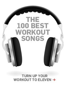 The 100 best workout song - Men's Health