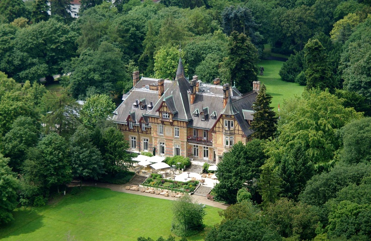 Villa Rothschild Kempinski in Frankfurt, Germany.... We seen a lot of castles while we were in Germany. Such a beautiful place!