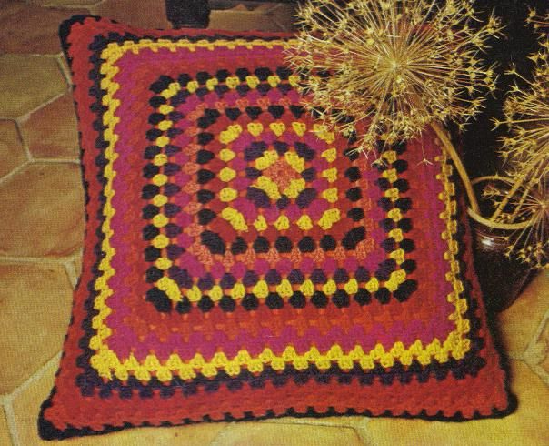 Floor Pillows Patterns : 17 Best images about Crochet Rugs, Pouf and Floor Pillows on Pinterest Crochet round, Crochet ...