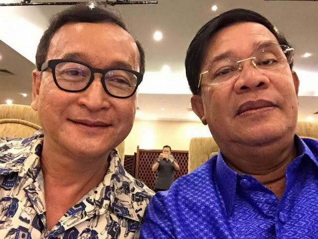 Hun Sen continues anti-Rainsy offensive takes credit for free market in Cambodia