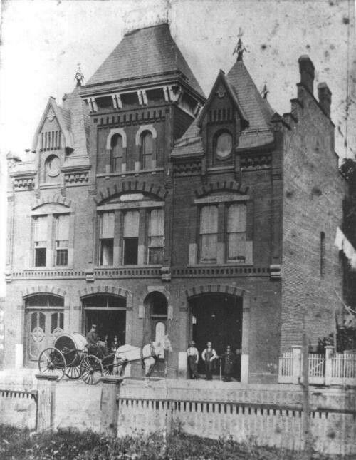 Bridgeport Fire Department Headquarters, Middle Street, Bridgeport CT 1876