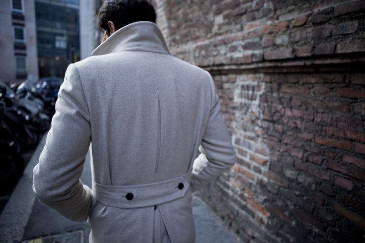 """Eighth picture in Fabio Attanasio's blog post """"MERANO COAT"""". Model: Fabio Attanasio."""