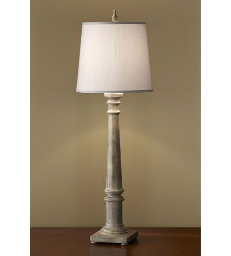 126 feiss zoe 1 light buffet lamp in weathered