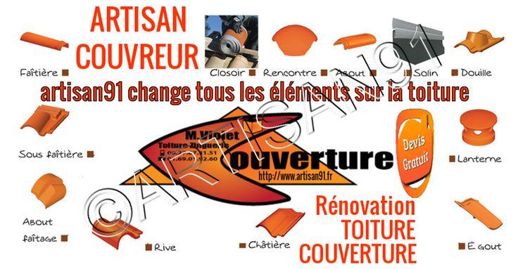 Artisan91 #artisan #couvreur en rénovation du #toit de la #maison change tous les #éléments de la #toiture #couverture : #diagnosticgratuit et #devistravaux https://www.artisan91.fr