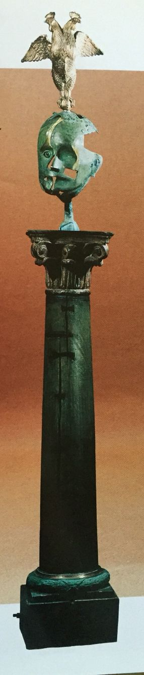 "Дмитрий Тугаринов "" Дитя семи нянек"" бронза, дерево 1996   Dmitriy Tugarinov "" The child of the seven nurses"" bronze, wood 1996"