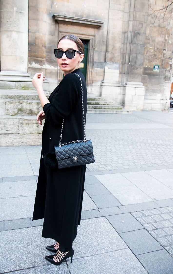 Lace up heels & Chanel bag - Matildas   Lily.fi