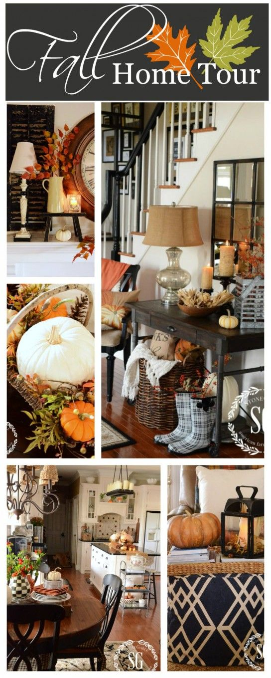 FALL HOME TOUR Lots Of Seasonal Ideas, Lots Of Room And Lots Of Pictures! Design Ideas