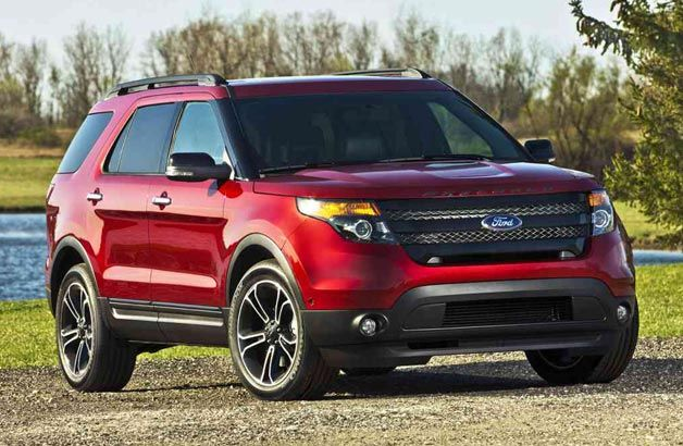 2013 Ford Explorer Sport officially rated at 365 HP, 16/22 MPG