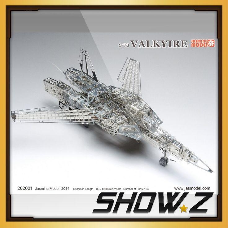 159.99$  Watch now  - [Show.Z Store]1/72 Vakyrie Full PE Model Kit Robotech Macross VF-1/S Jasmine Model 202001
