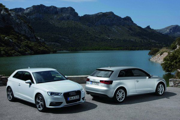 The third generation Audi A3 three door is scheduled for a UK launch later in September this year. Audi A3 will be launched in an option of two turbo petrol engines of 1.4 liter TFSI offering 120 hp and a 1.8 liter TFSI engine offering 178 hp while its diesel engine will be a 2.0 liter TDI offering 148 hp. Prices will range from £19,205 ($29,701) to £26,560 ($41,075) .