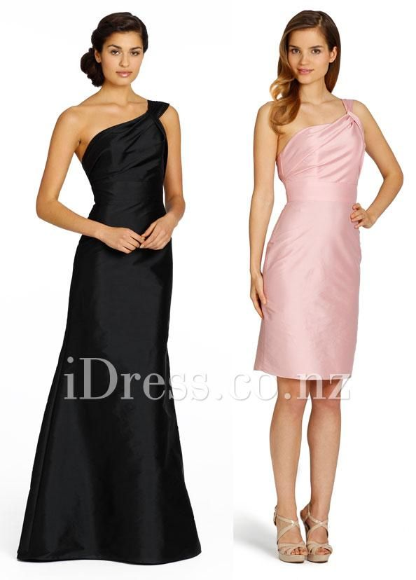 12 best black bridesmaid dresses from idress.co.nz images on ...