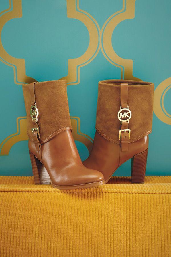 Michael Kors Fulton bootie @ belk.com #belk #shoes #boots