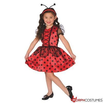 #Girls cute little ladybird #ladybug fancy dress costume #great for halloween par,  View more on the LINK: http://www.zeppy.io/product/gb/2/252453072595/