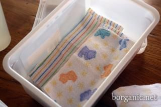 Homemade , Reusable, Organic Baby Wipes