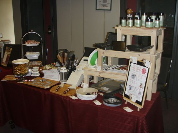 Booth Ideas Pampered Chef Pinterest Posts Ideas And
