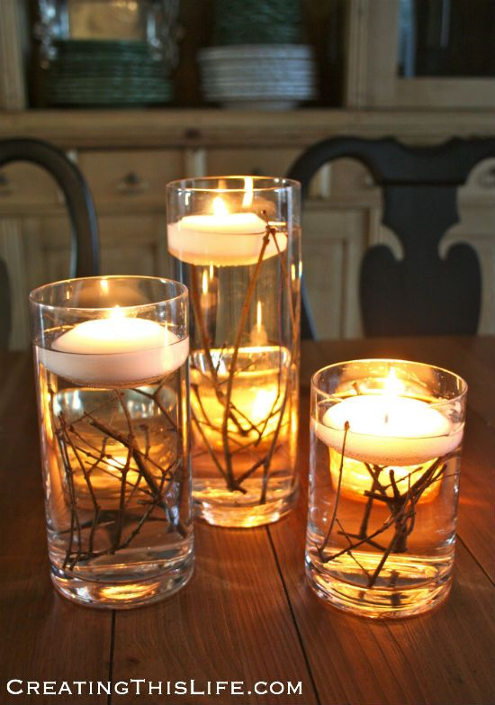 Floating Candle Trio