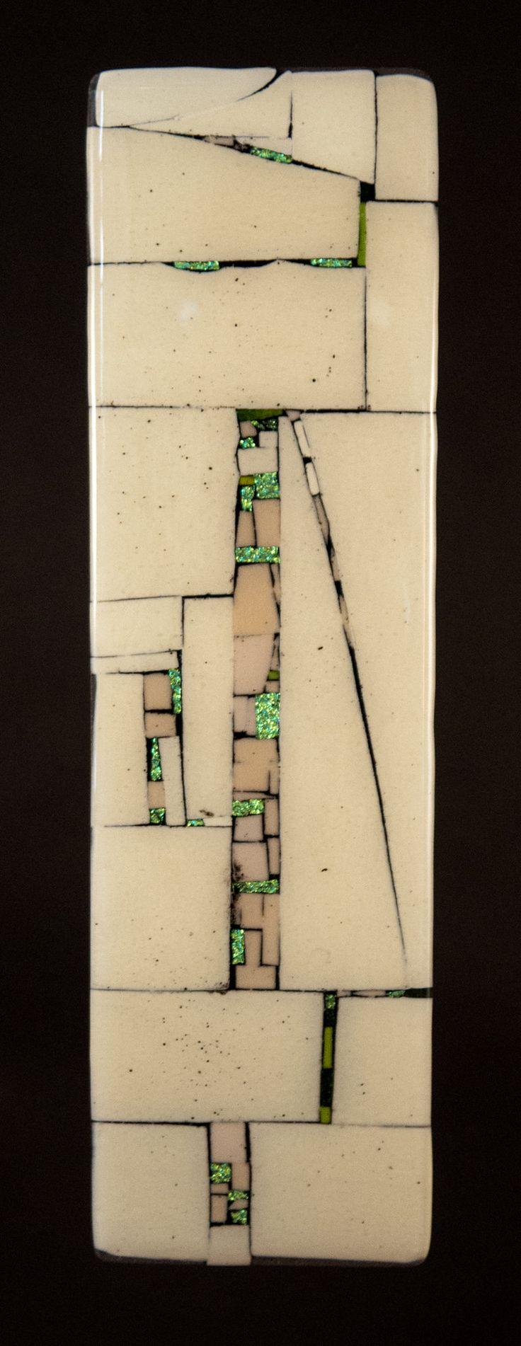 western wall notes by vicky kokolski and meg branzetti art glass wall sculpture available