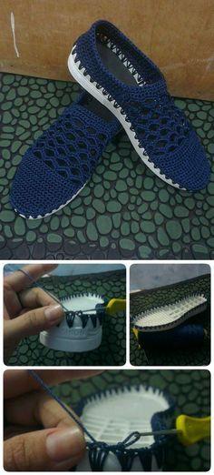 Zapatos en crochet lili