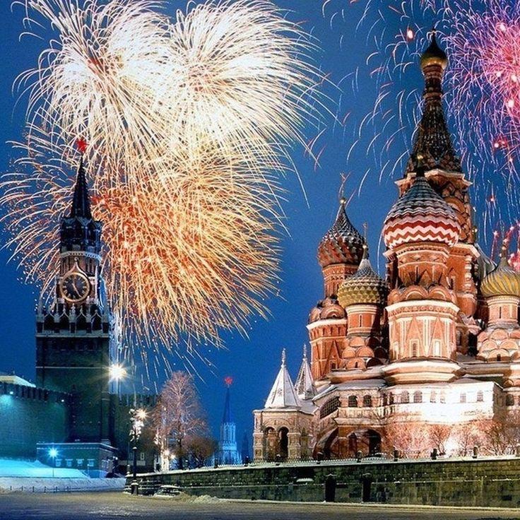 С НОВЫМ ГОДОМ!!!! УРАААА!! #galleria_arben #поздравление #краснаяплощадь #кремль #салют #новыйгод #newyear #праздник