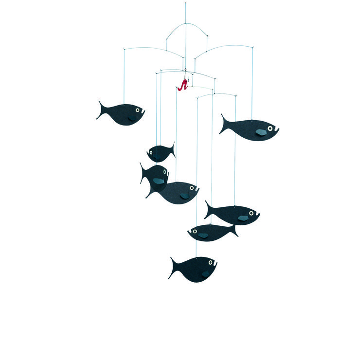 Shoal of Fish by Flensted Mobiles