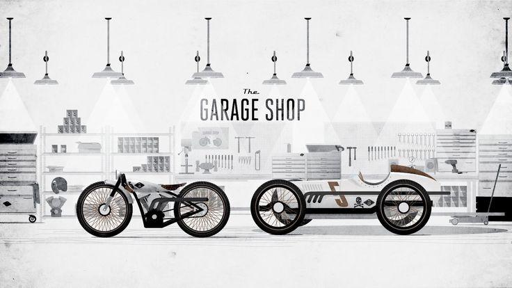 Garage shop poster