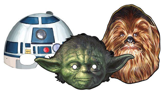 Star Wars Episode III Masks Group 3 - free download