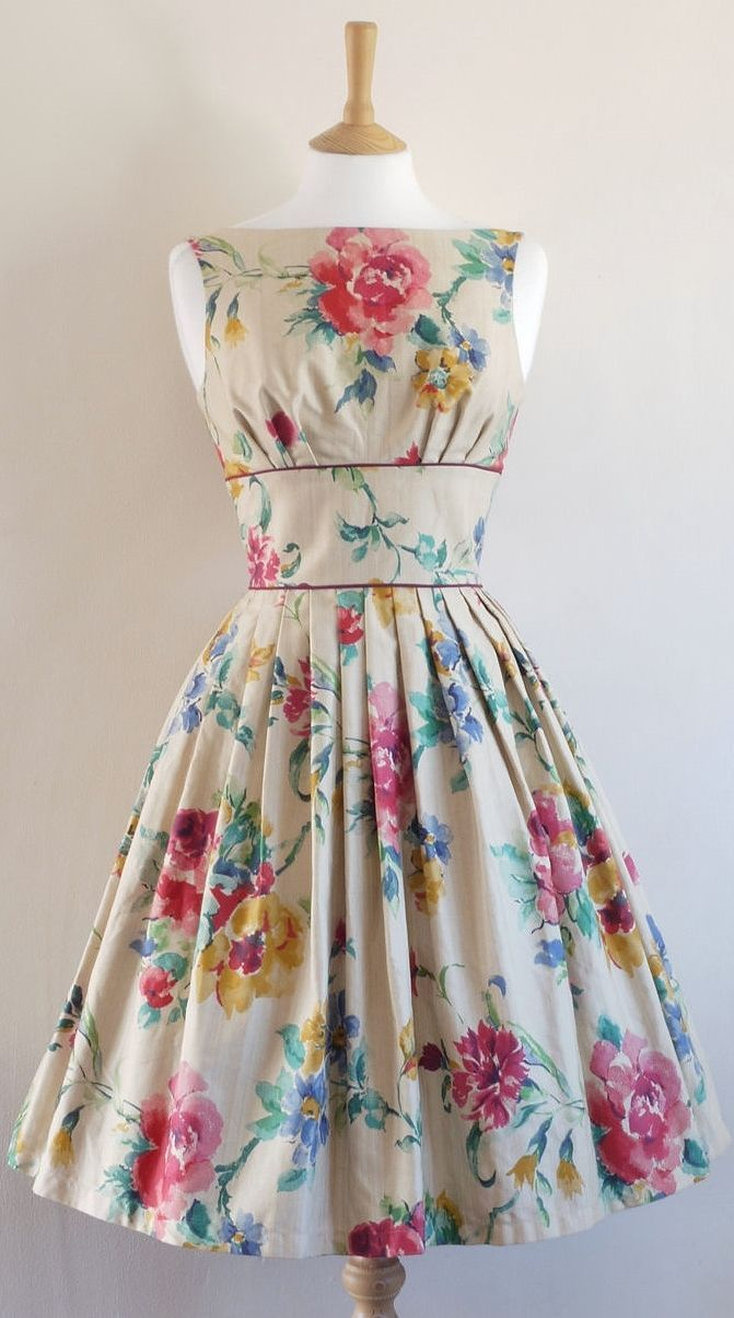 Very floral and meant for spring/summer