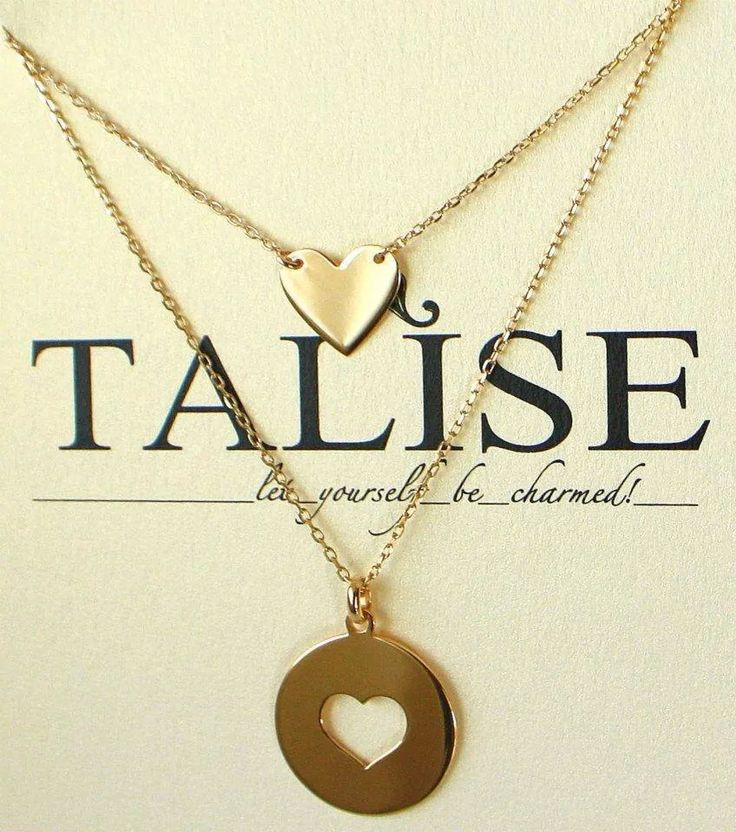 #Love all season long! #gold #plated #chain #heart #pendant