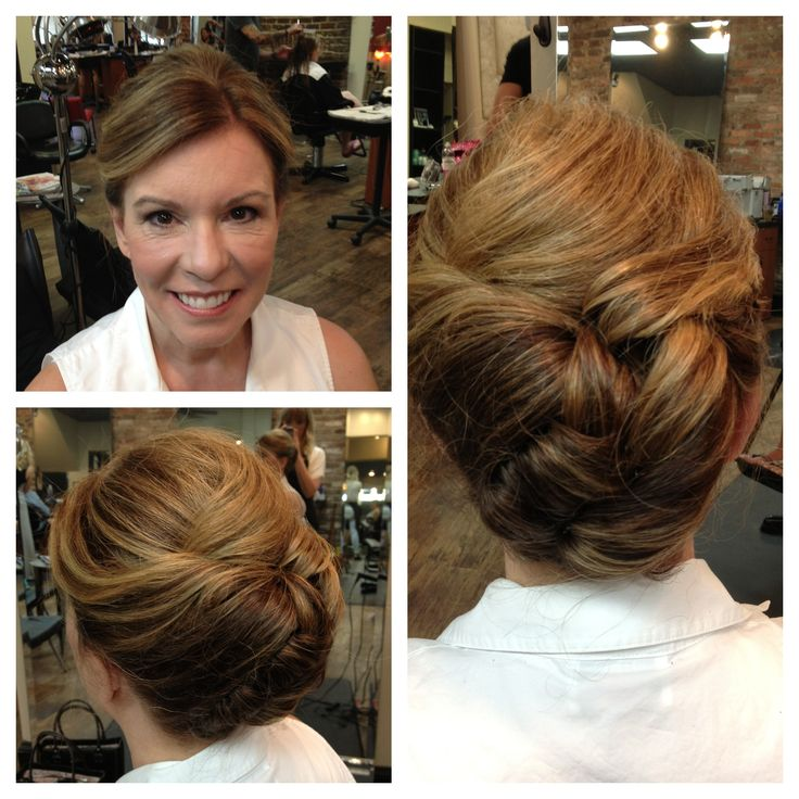 great option for her thick hair the tucks rolls hold thick hair while ...