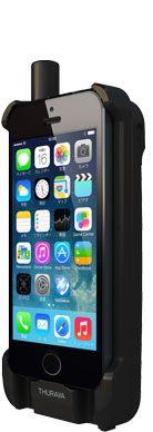 SoftbankからiPhoneにインストールしたアプリから操作できる衛星電話モジュール202THが発売されています。 もし万が一、自分がいる場所が完全に停電になった場合、携帯電話の基地局も使用不能に陥ります。そんな時は直接衛星へ通信できる衛星電話は威力を発揮します。 使い慣れているiPhoneのカバーみたいに装着できるからいざというときには重宝しそうです。衛星電話といっても基本料月々4900円、1分160円なのでバカ高いわけでもないです。もちろん海外旅行での通信にもつかえるので、ヨーロッパ・アジアが旅先ならもって行く価値もありますね。(北米・南米はエリア外)