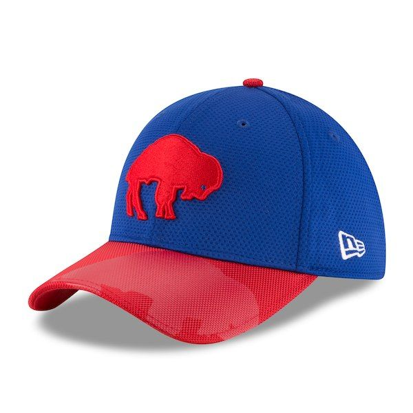 65aa6ec381d19 Buffalo Bills New Era Sideline Classic 39THIRTY Flex Hat - Royal   BuffaloBills