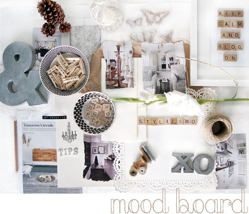 A pretty compilation of items to plan your style for an activity/project, event, entertaining, season, holiday, home/room decor, greeting cards, gift giving & wrapping—you name it, a moodboard can inspire you to get the best result—on time, within your budget, with an enjoyable process rather than hectic/stressed—love it❣  Info @ Stylizimo Blog