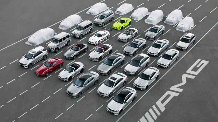 Un recorrido virtual por el concepto AMG de Mercedes-Benz