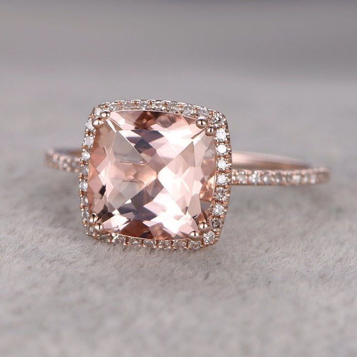 In honor of #NationalRoseDay I couldn't resist sharing this stunning sparkler for #SparkleSaturday!! Visit the link in profile and click this image to shop!  #yeswayrose #engagementring #rosegold #myrock #mybling #engagementring #engaged // See this post on Instagram: http://ift.tt/1Unbvyu