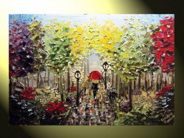 Increible Pintura Contemporanea por Christine Krainock - Pondly