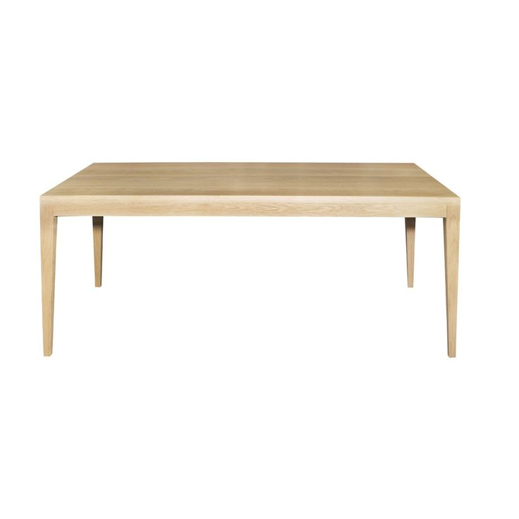 De-clutter your space with this minimalist designed solid wood dining table. This table can be customised to your requirements.