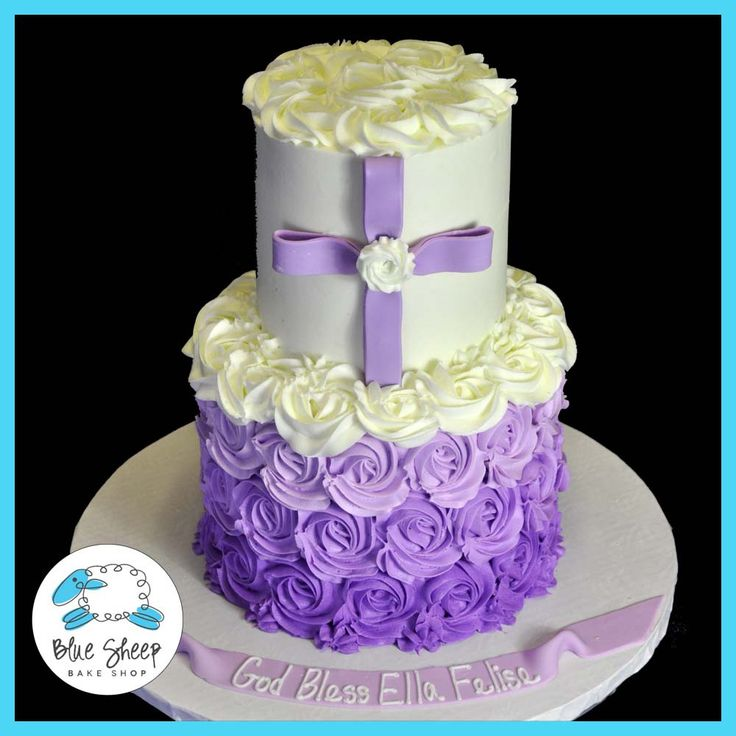 17 Best images about Cake Decorating - Religious Events on Pinterest Baptism cakes, Cross ...