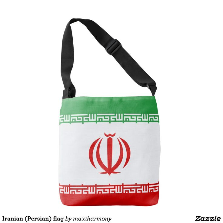 Iranian (Persian) flag Tote Bag