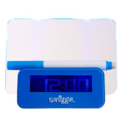 Glow Notes Clock smiggle